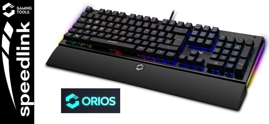Test Speedlink ORIOS RGB Opto-Mechanical – Clavier | PC
