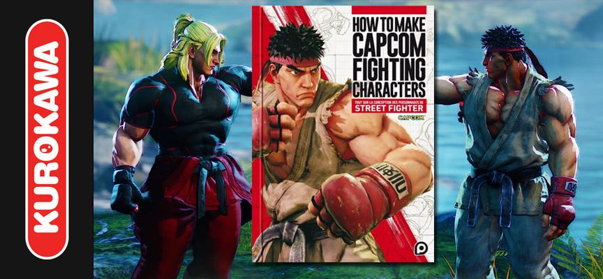 Avis sur le livre How to Make Capcom Fighting Characters / Kuro POP