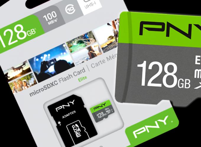 Test Carte microSDXC PNY Elite 128GB