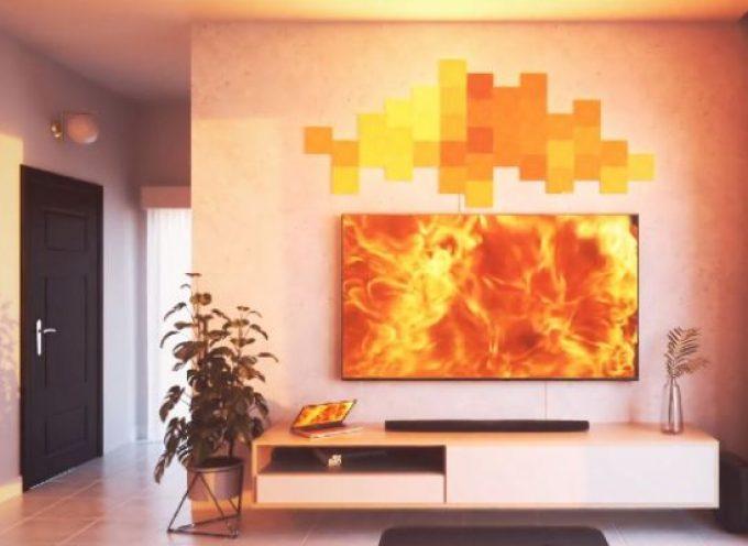 Test kit Nanoleaf Canvas | panneaux lumineux intelligents Wi-FI