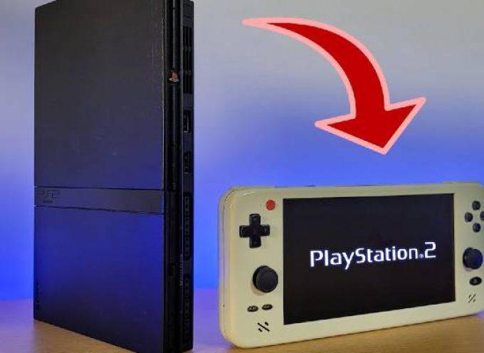 Mod PS2, il crée la PS2 portable la plus fine au monde