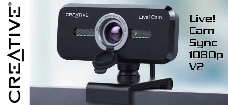 Test Creative Live! Cam Sync 1080p V2 – Webcam | PC / Mac
