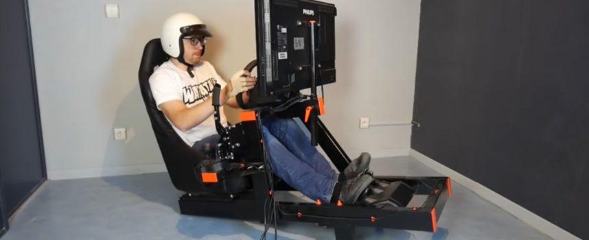 Benjamin Workshop crée son support de volant SimRacing