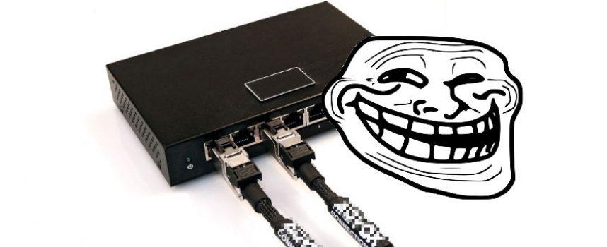 Switch audiophile, la nouvelle arnaque du marketing idiophile.