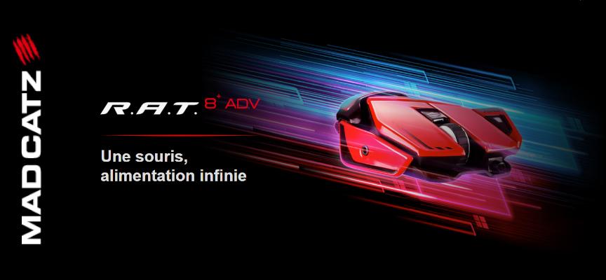 Test Mad Catz R.A.T 8+ ADV – Souris | PC / Mac